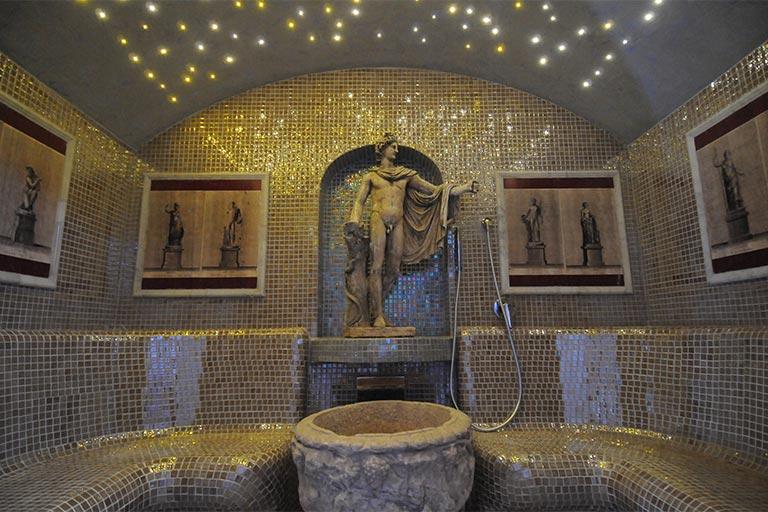 Spa hotel in rom mit wellness bereich spa und fitness raum