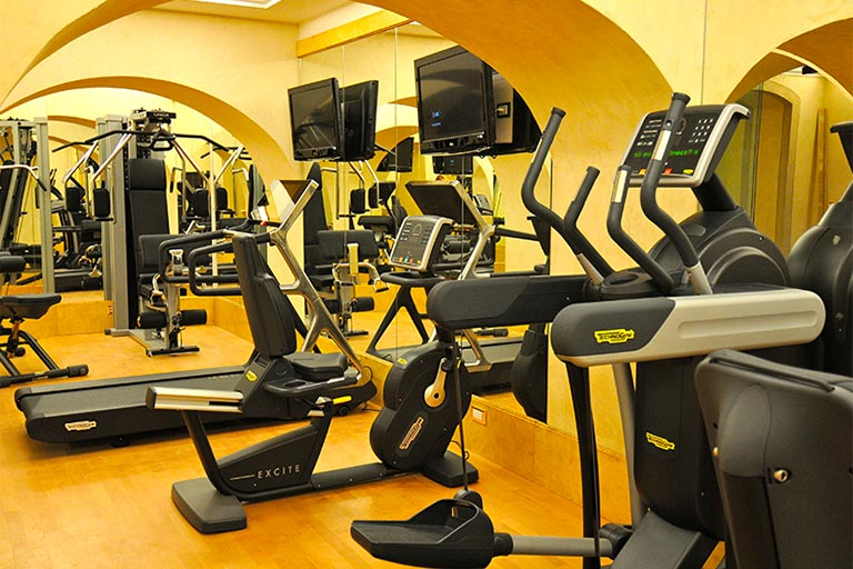 hotel with gym in rome