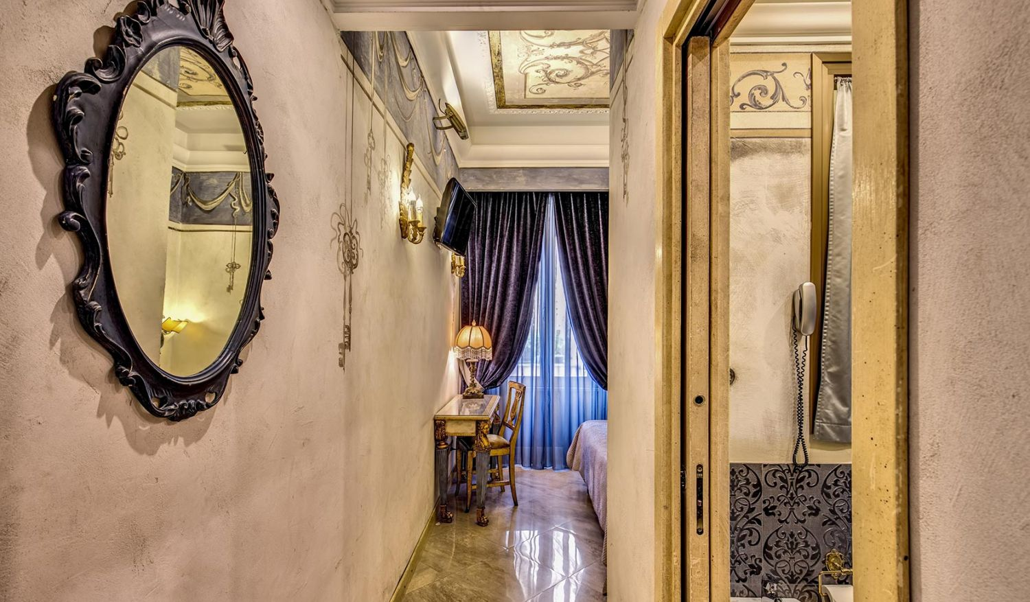 Elegant 4-star hotel in the center of Rome