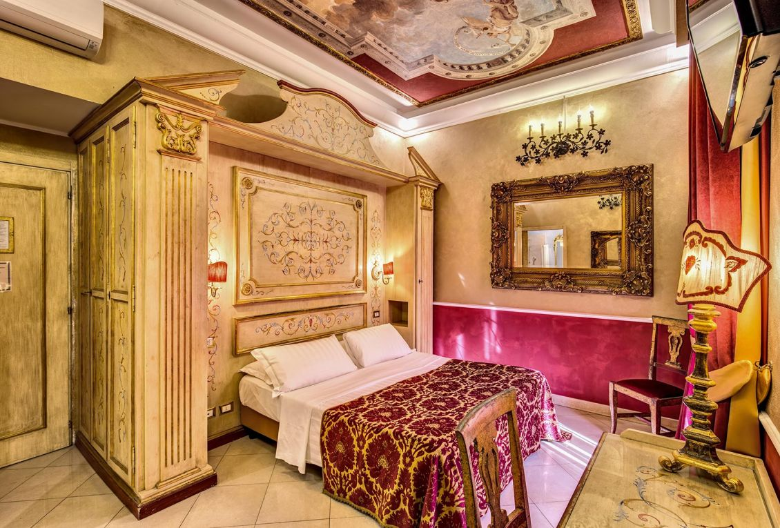 Hotel in the center of Rome with comfortable rooms