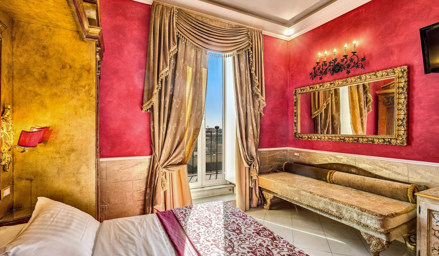 Rooms for holidays in Rome