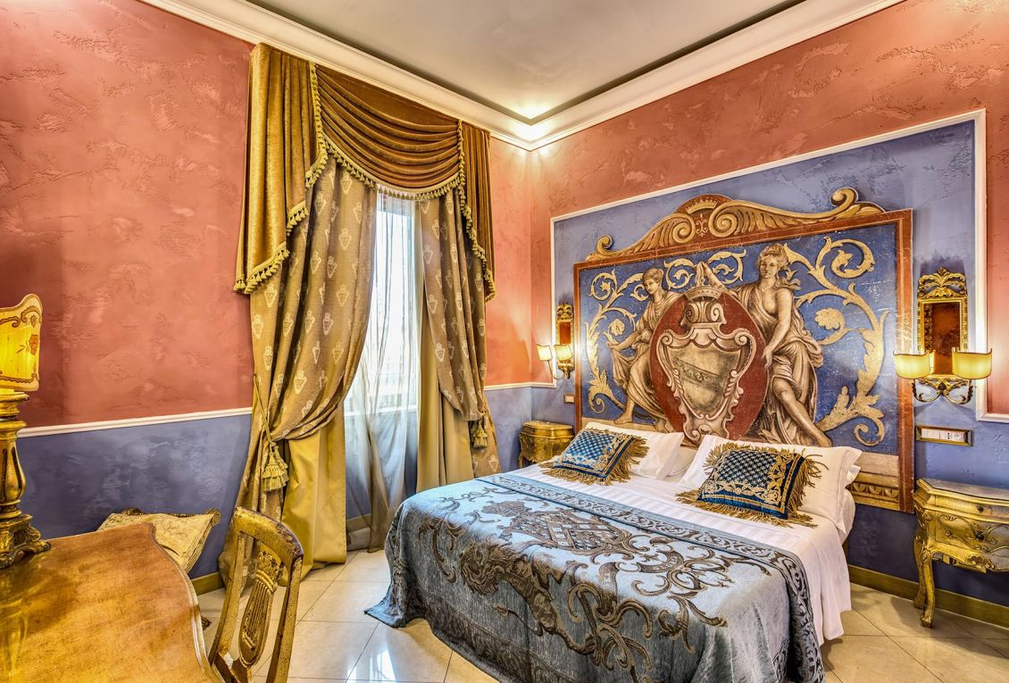 Cozy triple rooms near the center of Rome