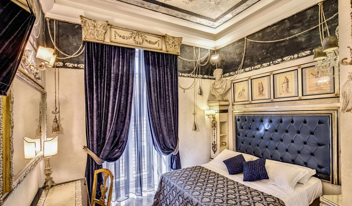 Rooms in Rome for luxury holidays