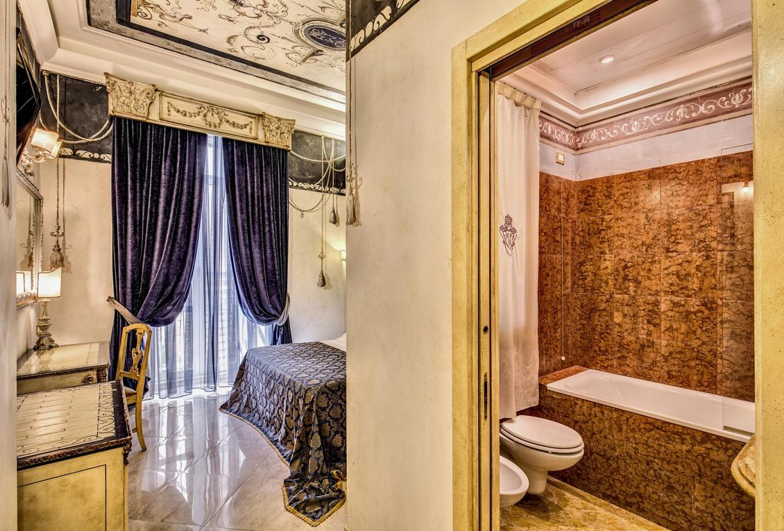 Elegant rooms to stay in the center of Rome