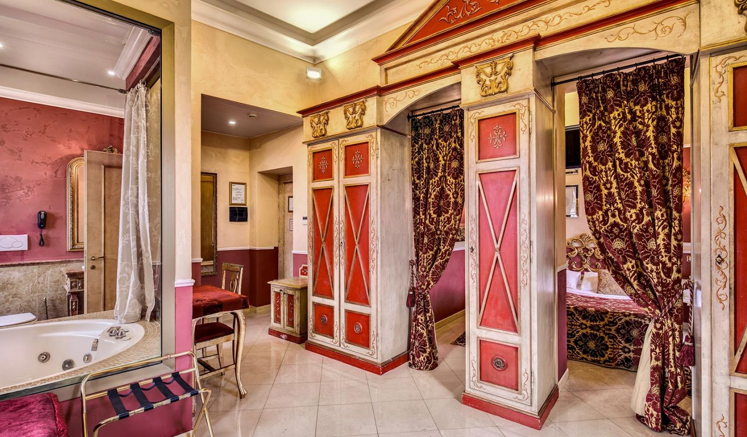 Elegant suites near the center of Rome