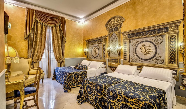 quadruple room in Rome